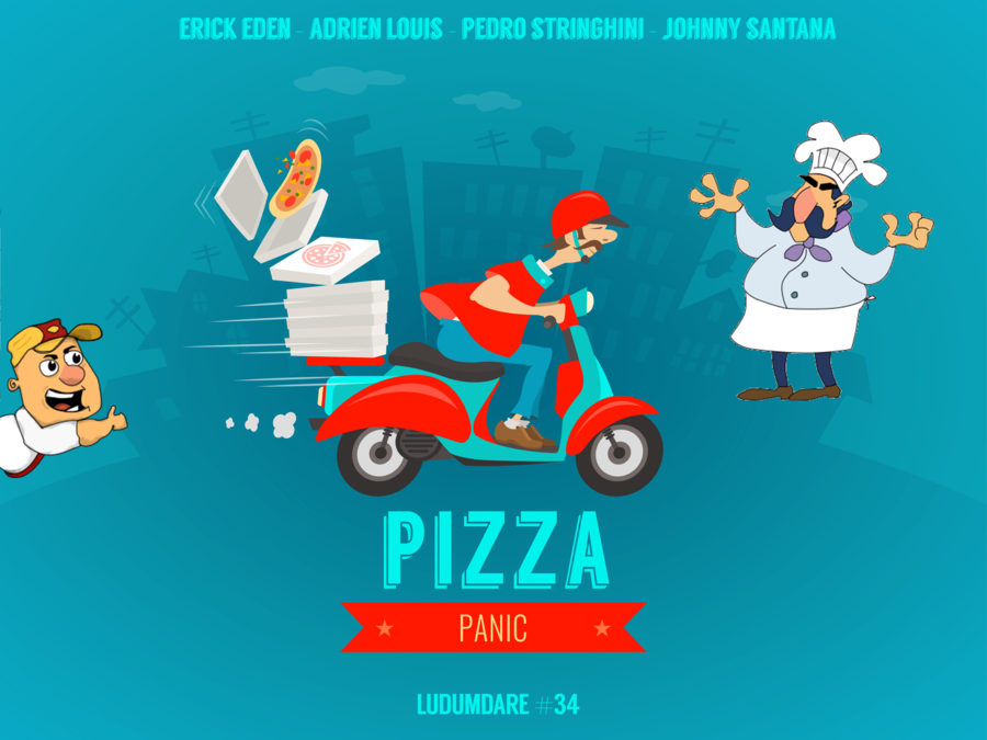 Pizza Panic Menu